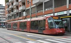 Venezia, Via Cristoforo Colombo 15.01.2018 (The STB) Tags: publictransport citytransport tram tramway strassenbahn strasenbahn lohr translohr öpnv venezia venecia venedig