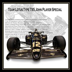JPS Lotus TYpe T95 (Dave Denby) Tags: nigel mansell jps lotus f1 formula racing car classic 95t