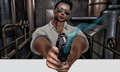 BOOM! (Jos Loll) Tags: gun boom bang sun glasses