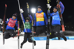 Biathlon - Relais mixte (France Olympique) Tags: 2018 biathlon coree fourcademartin games jeux jeuxolympiques jo korea men mixed mixte olympic olympicgames olympics olympiques pyeongchang relais relay south sport sud winter women coréedusud