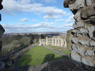 Dudley Castle and the surrounding area