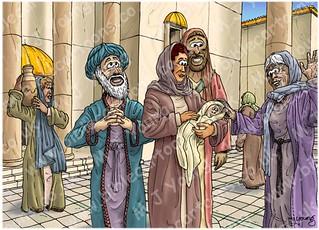 Luke 02 - Prophecies about Jesus - Scene 04 - Anna praises God