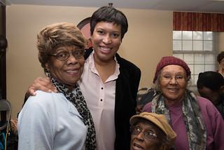 December 6, Visit to Model Cities Senior Wellness Center