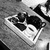am i artsy yet? (danielhast) Tags: tea grainy black white filter pretentious monochrome