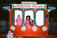 christmas time (janette_j) Tags: ogden city christmas village 2018 35 mm film ektar 100 nikon n65