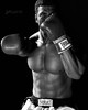 Ali (Dennis Valente) Tags: hdr 5dsr ali 16scale doll actionfigurephotographymacro blackandwhite stormcollectibles 32bit onesixth toys isobracketing boxer muhammadali sports actionfigure