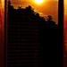 Sunrise on my window..