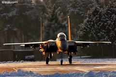 "McDonnell Douglas Boeing F15E Strike Eagle 91-0310 ""Explore"" #14 (Nigel Blake, 15 MILLION views! Many thanks!) Tags: mcdonnell douglas boeing f15e strike eagle 910310 snow frost cold winter usaf usafe raflakenheath"