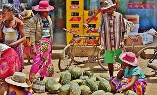 Visiting A Village Market