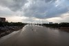 5D8_7671 (bandashing) Tags: river surma monsoon flood keanebridge landscape skyline sky clouds riverbank birds fly water darkclouds sylhet manchester england bangladesh bandashing aoa socialdocumentary akhtarowaisahmed