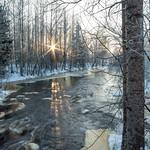 Winter river (Explored) thumbnail