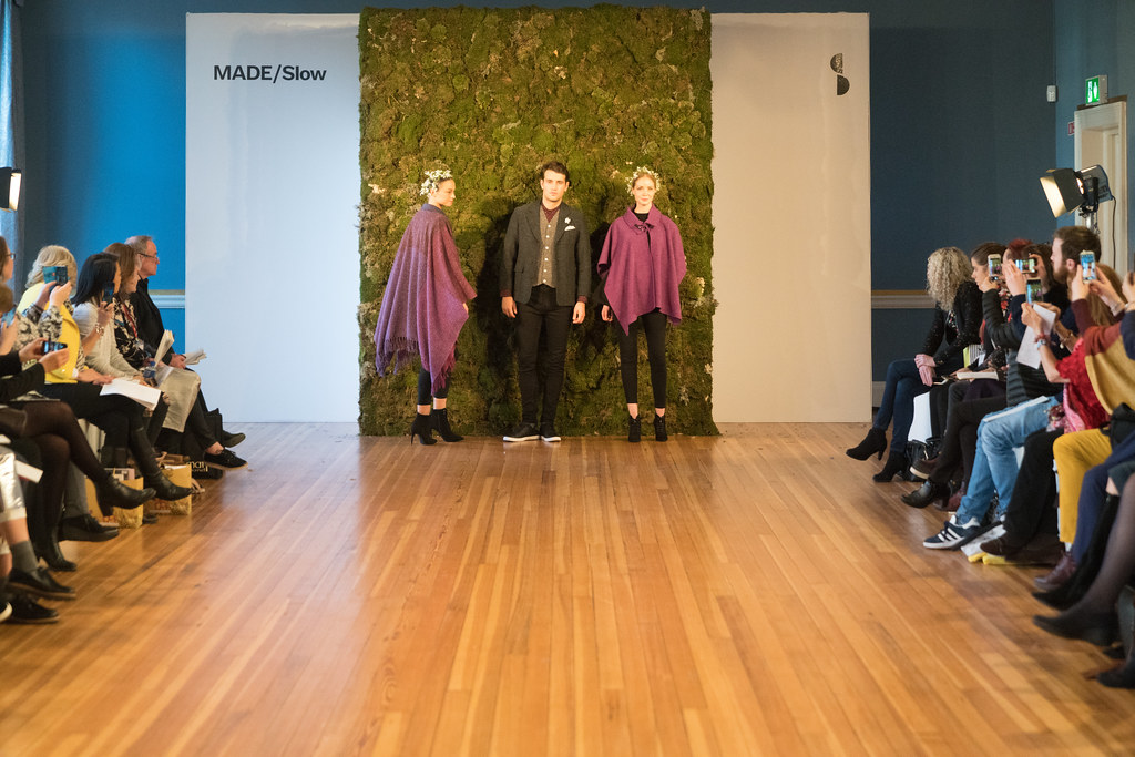 MADE-Slow PRESENTATION OF QUALITY IRISH FASHION DESIGN - STUDIO DONEGAL [FASHION SHOW AT THE RDS JANUARY 2018]-136248