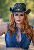 Portrait of a gorgeous redhead cowgirl (Alaskan Dude) Tags: photoshoot photoshoots women model models fashion cowgirl redhead portrait portraits beautyshoots