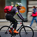 London cycling courier