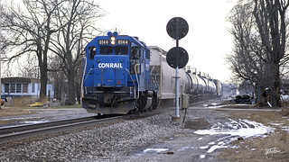 Conrail at Milford Junction, Indiana