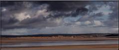 55 Megawatts Per Hour (Mark Wasteney) Tags: telegraphtuesday turbine windturbines htt beach clouds northdevon westcountry westwardho seaside sand panoramic photostitch