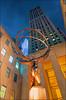 Rockefeller's Atlas (Prinz Wilbert) Tags: architecture architektur sculpture atlas rockefellercenter 5thavenue bluehour blauestunde nachts night evening dusk lights lichter beleuchtung newyork newyorkstate nyc newyorkcity manhattan midtown illumination himmel sky