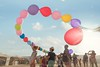 Balloons (Noma Kim) Tags: balloon childhood happiness sunshine joy festival floating flying color sky sony travel midburn