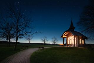 Kapelle mit Sternenhimmel No. 3