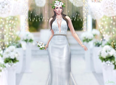 Aisle Walk (Jessy30000 Naglo) Tags: entice thetrunkshow ra shinyshabby kunst kustom9 lode bride wedding maitreya catwa aisle new secondlife avatar