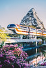 On the gleaming Monorail (dolewhip) Tags: disney disneyland monorail fantasyland matterhorn