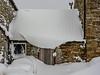 hat (lowooley.) Tags: lowwooley eastallenvalley northpennines northernengland snow barn chimney window door hat