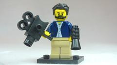 Brick Yourself Custom Lego Figure Windswept Film Director