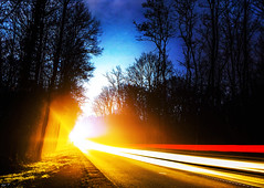 On the road (Karl.T - Photographie) Tags: road canon night
