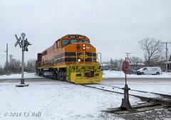 GEXR 3030 (Ramblings From The 4th Concession) Tags: gexr3030 gp402lw emdlocomotives freighttrains geneseewyoming panasonicfz1000 guelphont guelphnorthspur
