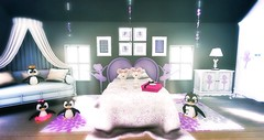 Penguins dreamers (Kumomi) Tags: chezmoifurniture decocrate beedesign shinyshabby yourdreams theseasonstory