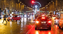 paris night (poludziber1) Tags: street streetphotography skyline city colorful cityscape color colorfull capital cars night people paris red traffic travel urban