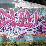 GOC Ally Pally to Kings Cross 014: Graffiti thumbnail