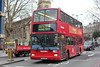 Metroline Travel . VPL585 LK04NMJ . Waterloo , London . Tuesday 30th-January-2018 . (AndrewHA's) Tags: bus waterloo london metroline travel volvo b7tl transbus plaxton president vpl 585 lk04nmj tfl route 4 highgate archway station dual door passenger transport