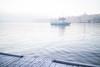 Stockholm, January 10, 2018 (Ulf Bodin) Tags: canonefm222stm sverige winter mist sweden outdoor dimma sea emelie skeppsholmen canoneosm3 boat vinter stockholm ferry fog water cityscape stockholmslän se
