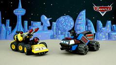FebRovery 2018 4 (TFDesigns!) Tags: lego space spacepolice blacktron disney pixar rover febrovery satire movie