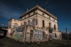 Ruina industrial (efe Marimon) Tags: panasonicdmclx100 felixmarimon barcelona l´hospitalet ruinaindustrial grafitti
