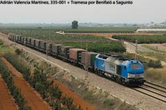 TRAMESA (Adrián Valencia Martínez) Tags: tramesa 335 vossloh comsa mercancias diesel gm