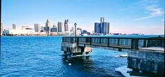 Detroit City (Sofeha) Tags: detroit motorcity windsor windsorontario canada detroitmichigan downtowndetroit detroitriver bordercity river water architecture refurbished