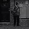 """When Impatient He Would Practice 'Bus Waiting Meditation'"", Martin Luther King Jr. Avenue, Historic Anacostia, Washington, DC (Gerald L. Campbell) Tags: streetphotography street squareformat spirituality spiritualindifference socialdocumentary alienation aloneness bw blackwhite blackmale citylife community dc digital freedom historicanacostia indifference injustice inequality portrait martinlutherkingjravenue portraitphotography urban urbanphotography yeswecan washingtondc yearning canonsx60hs"