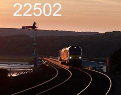 robfrance5d2_22502_190917_x68033_x68002_arnside_viaduct_6k73_drs_edr16lr6pse15weblowres (RF_1) Tags: 2017 68 68002 68033 absoluteblock absoluteblocksignaling arnside britain british caterpillar caterpillarc17516 class68 cumbria cumbrian cumbriancoast cumbriancoastline diesel directrailservices drs england estuary flask flasks freight glint glinting glints haulage hauling hazardous historical irradiated loco locomotive locomotives mechanical nuclear nucleardecommissioningauthority rail railfreight rails railway railways riverkent rural safety semaphore signal signaling signals stadler sunset sunsets train trains transport travel uk unitedkingdom viaduct victorian vossloh waste westmorland