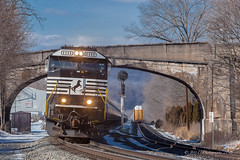 NS 66Z @ Port Royal, PA (Darryl Rule's Photography) Tags: 2018 alto altoona clouds cloudy cresson diesel diesels eastslope february gallitzin horseshoecurve lilly mcfarlanescurve middledivision ns norfolksouthern pa pc prr penncentral pennsy pennsylvania pennsylvaniarailroad pittsburghline portroyal portage positionsignals railroad railroads rain rainy rt53 signals snow snowing southfork summerhill sun sunny tipton tower train trains westslope winter
