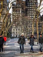Park walk (Michael Beresin) Tags: bryantpark michaelberesin shotoniphone iphoneography iphone newyorkcity nyc colorphotography streetphotography