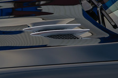 Detail of a Mercedes Benz sports car (frankmh) Tags: car detail mercedesbenz helsingborg skåne sweden outdoor