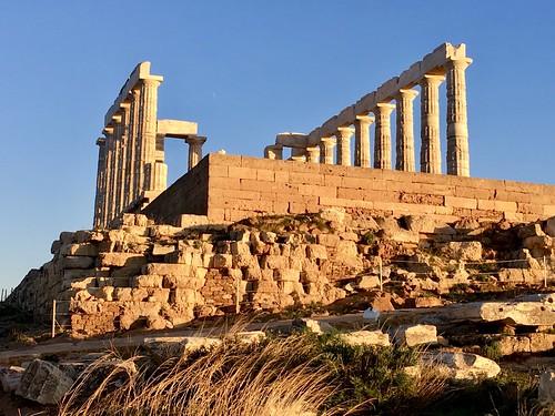 Temple of Poseidon, Sunion, Greece