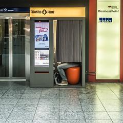 Wanna have fun ... ? (axel274) Tags: berne canonpowershot photomaton gare schweiz suisse switzerland bern