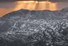 1920p 72dpi2-6115 (R W Gibbens Photo) Tags: cumbria england uk lakedistrict fells walk hike mountains winter fairfield bowfell sunset sunbeams jacobsladders snow