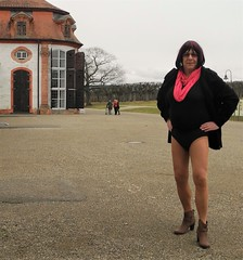 170228_53 (mathildecross) Tags: crossdress crossdressing crossdresser cd outdoor boots transvestit pantyhose park