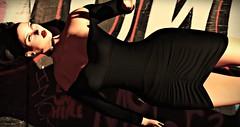 MI ALMA ES LANA (Pedrito Collazo) Tags: blackdress cocktaildress elegance erotic nightdress secondlifefashion sensual waitingforyou