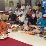 20171019 - Chopda poojan in Swaminarayan Mandir (2)