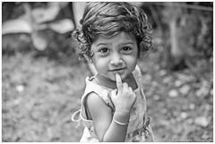 """""""கிளி போலப் பேசு.. இளங்குயில் போலப் பாடு.."""" (Ramalakshmi Rajan) Tags: baby babies kids kid children child myniece cute nikond750 nikon d750 nikkor24120mm blackandwhite blackwhite bw"""